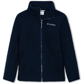 Columbia Rugged Ridge Sherpa Full-Zip Jacke Jungen collegiate navy